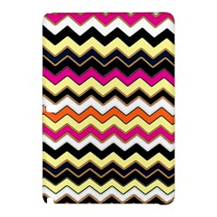 Colorful Chevron Pattern Stripes Samsung Galaxy Tab Pro 12 2 Hardshell Case by Amaryn4rt