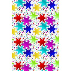 Snowflake Pattern Repeated 5 5  X 8 5  Notebooks by Amaryn4rt