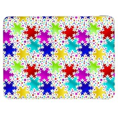 Snowflake Pattern Repeated Samsung Galaxy Tab 7  P1000 Flip Case by Amaryn4rt