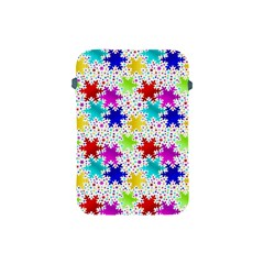Snowflake Pattern Repeated Apple Ipad Mini Protective Soft Cases by Amaryn4rt