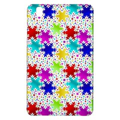Snowflake Pattern Repeated Samsung Galaxy Tab Pro 8 4 Hardshell Case by Amaryn4rt