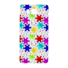 Snowflake Pattern Repeated Samsung Galaxy Alpha Hardshell Back Case by Amaryn4rt
