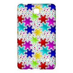 Snowflake Pattern Repeated Samsung Galaxy Tab 4 (7 ) Hardshell Case  by Amaryn4rt