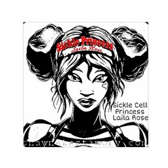 Sickle Cell Is Me Picsart 1482705574799 Small Satin Scarf (square)