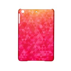 Abstract Red Octagon Polygonal Texture Ipad Mini 2 Hardshell Cases by TastefulDesigns