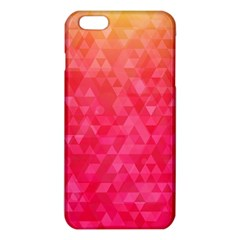 Abstract Red Octagon Polygonal Texture Iphone 6 Plus/6s Plus Tpu Case by TastefulDesigns