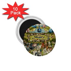 Hieronymus Bosch Garden Of Earthly Delights 1 75  Magnets (10 Pack)  by MasterpiecesOfArt