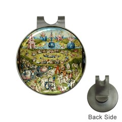 Hieronymus Bosch Garden Of Earthly Delights Hat Clips With Golf Markers by fineartgallery