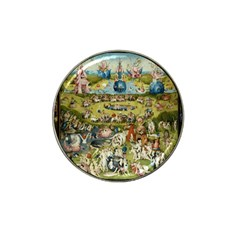 Hieronymus Bosch Garden Of Earthly Delights Hat Clip Ball Marker by MasterpiecesOfArt