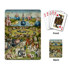 Hieronymus Bosch Garden Of Earthly Delights Playing Card by fineartgallery