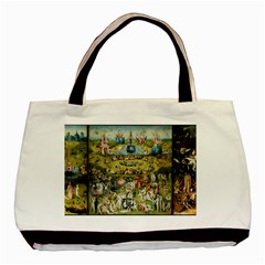 Hieronymus Bosch Garden Of Earthly Delights Basic Tote Bag by MasterpiecesOfArt