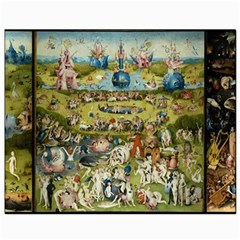 Hieronymus Bosch Garden Of Earthly Delights Canvas 8  X 10  by MasterpiecesOfArt