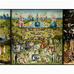 Hieronymus Bosch Garden Of Earthly Delights Canvas 18  X 24   by MasterpiecesOfArt