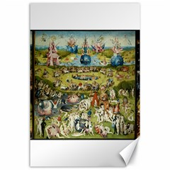 Hieronymus Bosch Garden Of Earthly Delights Canvas 24  X 36  by MasterpiecesOfArt