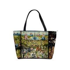 Hieronymus Bosch Garden Of Earthly Delights Shoulder Handbags by fineartgallery