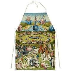 Hieronymus Bosch Garden Of Earthly Delights Full Print Aprons by MasterpiecesOfArt