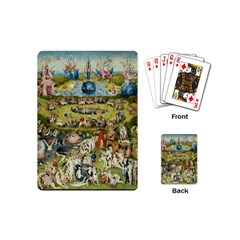 Hieronymus Bosch Garden Of Earthly Delights Playing Cards (mini)  by fineartgallery