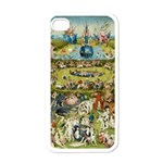Hieronymus Bosch Garden Of Earthly Delights Apple iPhone 4 Case (White) Front