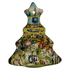 Hieronymus Bosch Garden Of Earthly Delights Christmas Tree Ornament (two Sides) by MasterpiecesOfArt