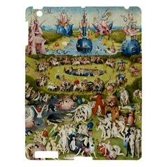 Hieronymus Bosch Garden Of Earthly Delights Apple Ipad 3/4 Hardshell Case by MasterpiecesOfArt