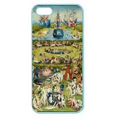 Hieronymus Bosch Garden Of Earthly Delights Apple Seamless Iphone 5 Case (color) by MasterpiecesOfArt