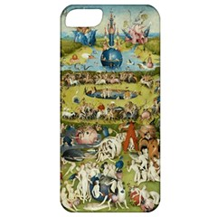 Hieronymus Bosch Garden Of Earthly Delights Apple Iphone 5 Classic Hardshell Case by MasterpiecesOfArt