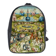 Hieronymus Bosch Garden Of Earthly Delights School Bags (xl)  by MasterpiecesOfArt