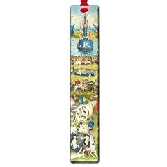 Hieronymus Bosch Garden Of Earthly Delights Large Book Marks by MasterpiecesOfArt