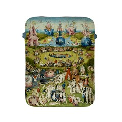 Hieronymus Bosch Garden Of Earthly Delights Apple Ipad 2/3/4 Protective Soft Cases by MasterpiecesOfArt