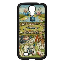 Hieronymus Bosch Garden Of Earthly Delights Samsung Galaxy S4 I9500/ I9505 Case (black) by MasterpiecesOfArt