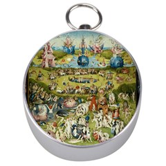 Hieronymus Bosch Garden Of Earthly Delights Silver Compasses by MasterpiecesOfArt