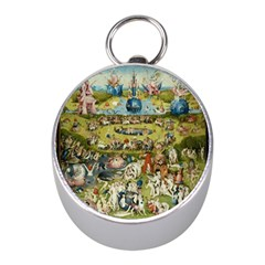 Hieronymus Bosch Garden Of Earthly Delights Mini Silver Compasses by MasterpiecesOfArt