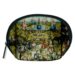 Hieronymus Bosch Garden Of Earthly Delights Accessory Pouches (medium)  by MasterpiecesOfArt