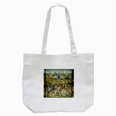 Hieronymus Bosch Garden Of Earthly Delights Tote Bag (white) by MasterpiecesOfArt