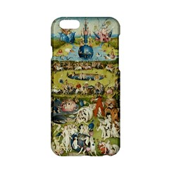 Hieronymus Bosch Garden Of Earthly Delights Apple Iphone 6/6s Hardshell Case by MasterpiecesOfArt