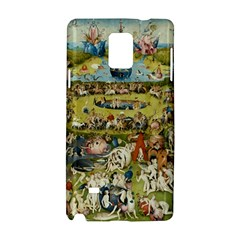 Hieronymus Bosch Garden Of Earthly Delights Samsung Galaxy Note 4 Hardshell Case by MasterpiecesOfArt