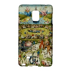 Hieronymus Bosch Garden Of Earthly Delights Galaxy Note Edge by MasterpiecesOfArt