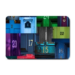 Door Number Pattern Small Doormat  by Amaryn4rt