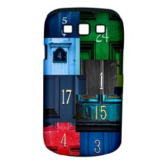 Door Number Pattern Samsung Galaxy S Iii Classic Hardshell Case (pc+silicone) by Amaryn4rt
