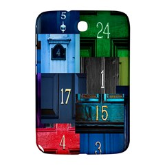 Door Number Pattern Samsung Galaxy Note 8 0 N5100 Hardshell Case  by Amaryn4rt
