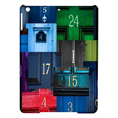 Door Number Pattern Ipad Air Hardshell Cases by Amaryn4rt