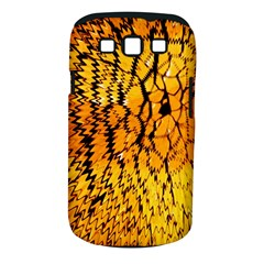 Yellow Chevron Zigzag Pattern Samsung Galaxy S Iii Classic Hardshell Case (pc+silicone) by Amaryn4rt