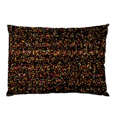 Colorful And Glowing Pixelated Pattern Pillow Case