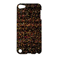 Colorful And Glowing Pixelated Pattern Apple Ipod Touch 5 Hardshell Case by Amaryn4rt