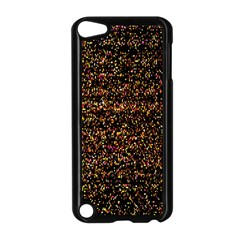 Colorful And Glowing Pixelated Pattern Apple Ipod Touch 5 Case (black) by Amaryn4rt