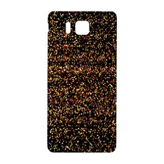 Colorful And Glowing Pixelated Pattern Samsung Galaxy Alpha Hardshell Back Case by Amaryn4rt