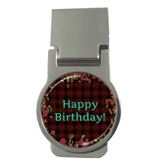 Happy Birthday To You! Money Clips (round)  by Amaryn4rt