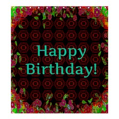 Happy Birthday To You! Shower Curtain 66  X 72  (large)  by Amaryn4rt