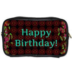 Happy Birthday To You! Toiletries Bags by Amaryn4rt