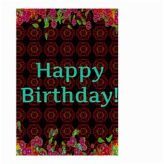 Happy Birthday To You! Small Garden Flag (two Sides) by Amaryn4rt